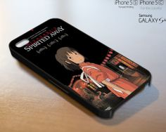 Spirited Away - iPhone 4 4S iPhone 5 5S 5C and Samsung Galaxy S3 S4 Case on Etsy, $9.99