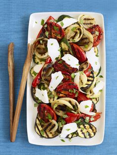 Prepare a vegetarian meal of this ratatouille on the grill.