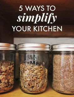 5 Ways to Simplify Your Kitchen — La Petite Farmhouse