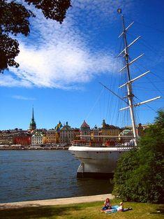Skeppsholmen Island, Stockholm, Sweden