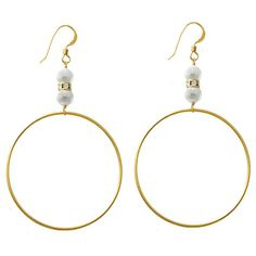 Magnificent Pearl Earrings $90