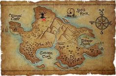 Zen Treasure Maps Page - lots of treasure maps images, ideas and activities