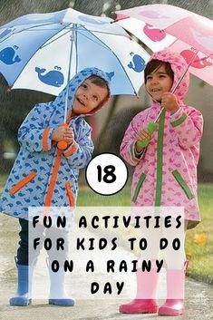 Rainy Day Activity Ideas