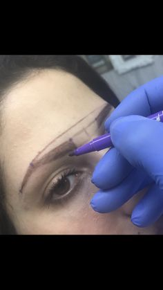 Permanent makeup eyebrows by Kouki