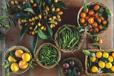 Bookmark These Garden-to-Table Recipes for All Your Summer Gatherings Recipe For Blood, Blood Orange Margarita, Veggie Delight, Summer Barbecue, Basil Leaves, New Cookbooks, Heirloom Tomatoes, Edible Garden, Mediterranean Style