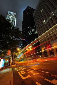 Hong Kong Bus Stop,China