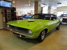1970 PLYMOUTH CUDA CONVERTABLE / MOPAR.  Find parts for this classic beauty at http://restorationpartssource.com/store/