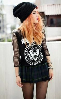 Band shirt outfit