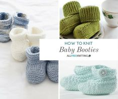How to Knit Baby Booties: 25 Adorable Patterns | AllFreeKnitting.com