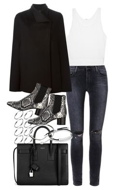 """""""Untitled #3578"""" by plainly-marie ❤ liked on Polyvore featuring ASOS, Helmut Lang, J Brand, Joseph, Isabel Marant, Yves Saint Laurent, Monica Vinader, Cartier, women's clothing and women's fashion"""