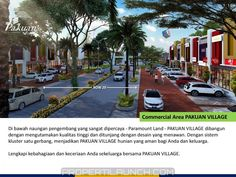 Commercial area Pakuan Village Curug Tangerang.