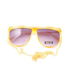 My Mia Lemon sunglasses coming in the mail.  For a trantastic day at the beach.
