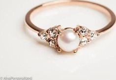 pearl ring. This is exactly my ring. Soooo pretty.
