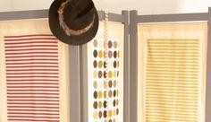 paravent customise Estilo Retro, Decoration, Blinds, Gadgets, Diy, Curtains, Couture, Home Decor, Fabrics