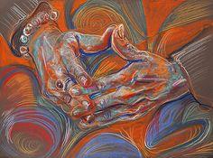 fred hatt - folded hands