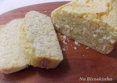 Pão de Milho Sem Glúten e Sem Lactose - Na Biroskinha Sem Gluten Sem Lactose, Sin Gluten, Gluten Free Living, Cookie Frosting, Brownie Cake, 30 Minute Meals, Side Salad, Sweet Bread, Light Recipes