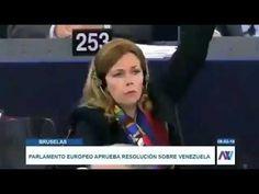 Parlamento Europeo aprueba resolución contra Nicolas Maduro y Diosdado C...