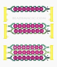 Free pattern for beautiful bracelet Snow with pearls Photo by U need: seed beads Beading Patterns Free, Seed Bead Patterns, Beaded Bracelet Patterns, Beading Tutorials, Free Pattern, Embroidery Bracelets, Do It Yourself Jewelry, Seed Bead Bracelets, Seed Beads