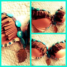 Pocahontas/Indian Girl Bra from PrettyGirlDancewear on Etsy. Halloween Inspo, Sexy Halloween Costumes, Diy Costumes, Fall Halloween, Halloween Party, Costume Ideas, Woman Costumes, Couple Costumes, Couple Halloween