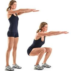 Boost your Buns Fast! 30 Day Squat Challenge - Christina Carlyle