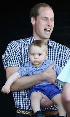 The cutest photos of Prince William with Prince George and Princess Charlotte - Photo 24