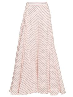 ROSIE ASSOULIN Miss Direction Cotton-Blend Wide-Leg Trousers. #rosieassoulin #cloth #trousers
