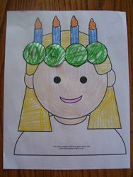 St Lucia's Feast Day Fun! {Easy Ideas}   Catholic Inspired ~ Arts, Crafts, and Activities!