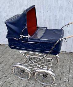 Vintage Pram, Retro Vintage, Prams And Pushchairs, Girl Room, Baby Strollers, Antique, Children, Prams, Cribs For Babies