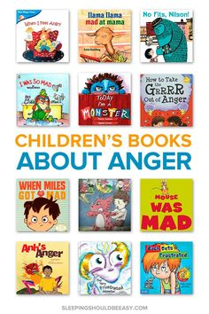 Struggling with an Angry Child? These Children's Books about Anger Can Help. Need ways to calm your angry child down? This collection of children's books about anger helps kids manage frustration and understand these big feelings. Best Children Books, Childrens Books, Books For Kids, Baby Books, Best Books For Toddlers, Popular Kids Books, Best Toddler Books, Anger Management For Kids, Angry Child