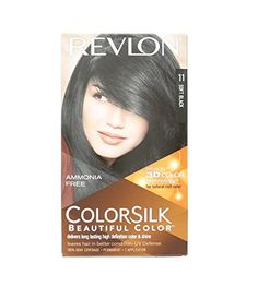 2 Pack X Revlon Colorsilk Hair Color Soft Black 1Wn (40 ml) *** This is an Amazon Affiliate link. Want additional info? Click on the image.
