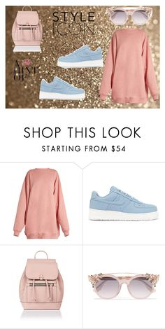 """Untitled #57"" by jk-jednacurica on Polyvore featuring Acne Studios, NIKE, Accessorize and Jimmy Choo"