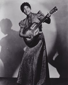 "Guitarist, Singer, Songwriter, & ""Godmother of Rock-n-Roll"" Sister Rosetta Tharpe. First artist to chart with spiritual recordings due to her signature blend of gospel with secular rhythms. Music legends Elvis Presley, Jerry Lee Lewis, Little Richard, and Johnny Cash consider her a source of inspiration, influence, and considered a pioneer in the genre.. Inducted into the Blues Hall of Fame in 2007 and January 11th, 2008 was declared Sister Rosetta Tharpe Day in Pennsylvania."
