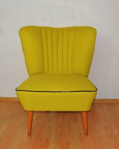 Vintage Lounge Chair big from 70's by OFCURTAINS on Etsy, €260.00
