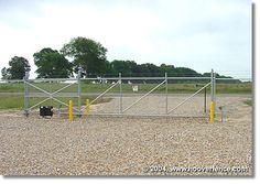 2rail Flush Top And Curved Design Fences Gates