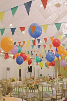Kerwina's Pista sa Nayon Themed Party - Ceiling Details