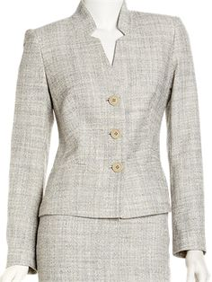 Elixir Tweed Jacket - Lafayette 148 New York @ GetThis.tv