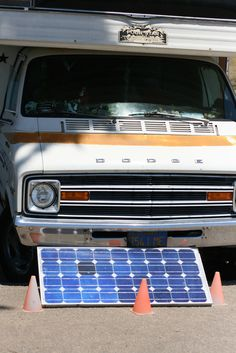 RV solar panels can provide enough electricity for everything inside your RV. photo by richardmasoner on Flickr Shows how to install.