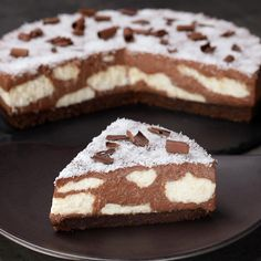Cow cake without baking-Torta Mucca senza cottura The ideal dessert to amaze young and old with a mouth-watering cocoa and coconut-based filling: the Muuucca cake! Lemon Dessert Recipes, Easy Baking Recipes, Sweet Recipes, Cake Recipes, Cooking Recipes, Cow Cakes, Torte Cake, Strawberry Desserts, Sweet Cakes
