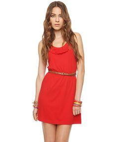 Every girl needs a red dress.