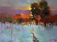 The Royal Institute of Oil Painters: Join Brian Ryder AROI For An Oil Landscape Masterclass