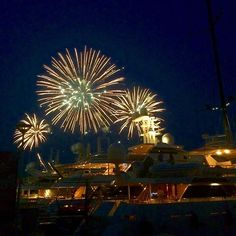#PortHercule Petite escapade à #Monaco #fireworks #summer #vacances #nightout by tonial7prst from #Montecarlo #Monaco
