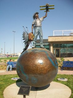 """Sioux-per Boy"" Bronze by artist Matt Lanz outside Rapid City Airport in South Dakota South Dakota Vacation, South Dakota State, North Dakota, People Around The World, Around The Worlds, Northwest Usa, Rapid City, Roadside Attractions, Travel Memories"