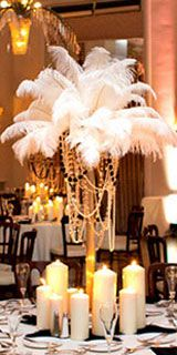 Old Hollywood Wedding Theme Decorations