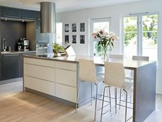 Modern Kitchen Island With Seating modern kitchen island with seating - google search