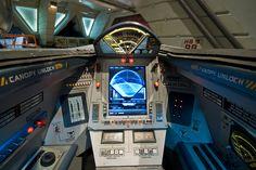 The cockpit of a Viper MK VII