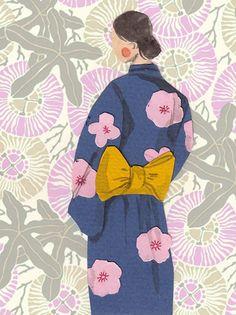 kimono by Emma Block