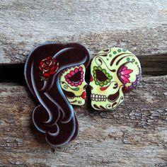 Dia de Los muertos rings! Love!