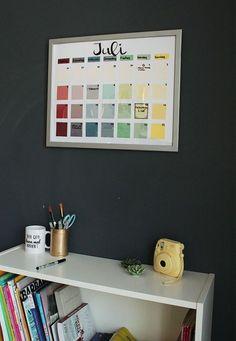 Upcycling: nachhaltigen Kalender selber basteln - DIY-Anleitung via Makerist.de