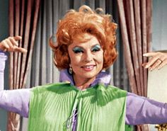 Endora: mother of Samantha, bane of Derwood. Loves mischief, the high life and floating around the living room.