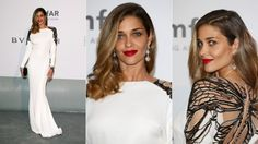 Ana Beatriz Barros, unknown designer. 2014 amfAR Gala